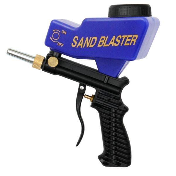 Anti rust Protection sand blaster machine Save unnecessary surface Material Adjust sandblast flows change nozzles Spray 5