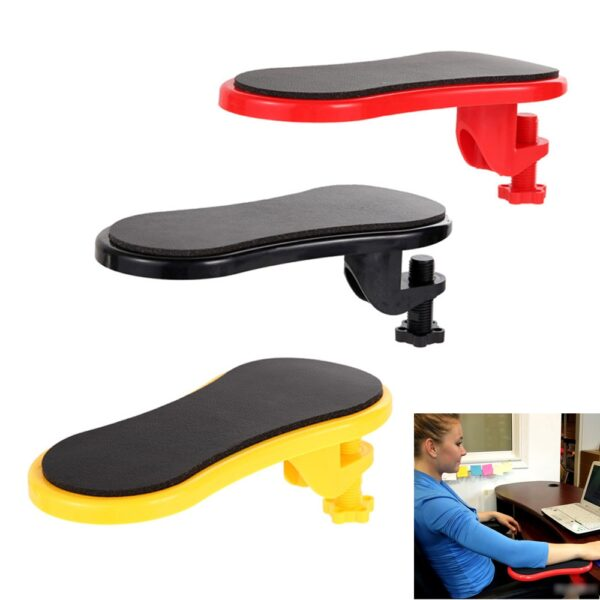 Attachable Armrest Pad Desk Computer Table Arm Support Mouse Pads Arm Wrist Rests Chair Extender Hand