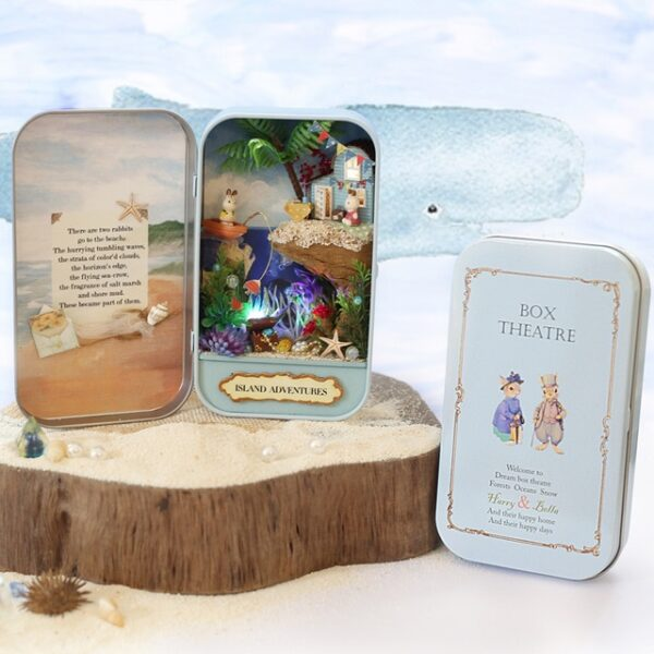 Box Theatre Nostalgic Theme Miniature Scene Wooden Miniature Puzzle Toy DIY Doll House Furnitures Countryside Notes 1.jpg 640x640 1