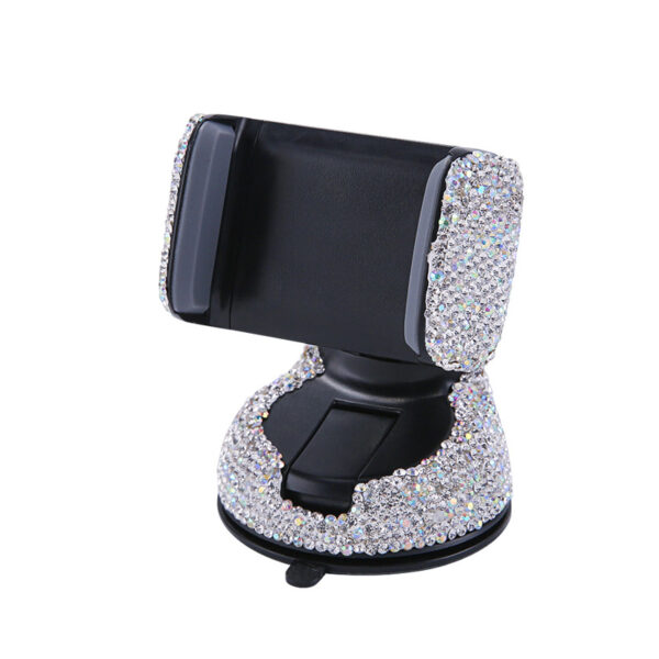 Crystal Rhinestones Universal Car Phone Holder for iPhone smartphone Mobile phone car holder Stand Air Vent 5