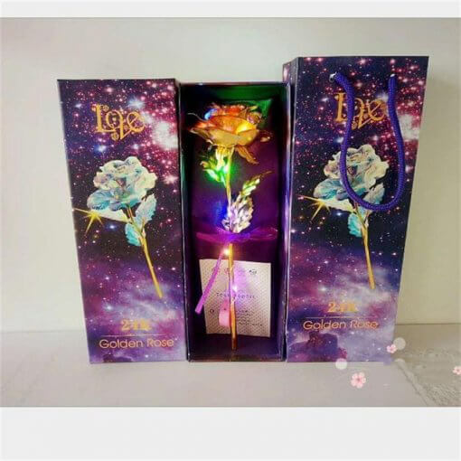 Drop Shipping Valentine s Day Creative Gift 24K Foil Plated Rose Gold Rose Lasts Forever Love 4.jpg 640x640 4 510x510 1