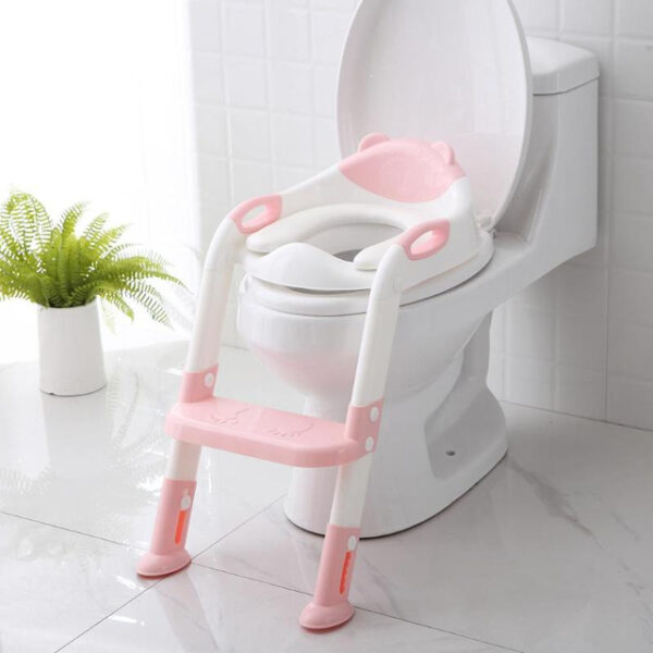 Folding Baby Potty Infant Kids Toilet Training Seat with Adjustable Ladder Portable Urinal Potty Toilet Seat 2.jpg 640x640 2