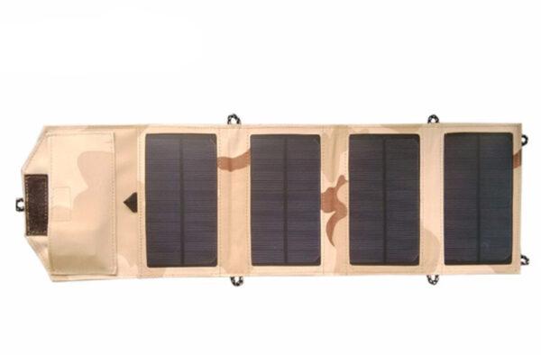 GGX ENERGY 8W Portable Solar Charger for Mobile Phone iPhone Folding Mono Solar Panel Foldable Solar 3 1