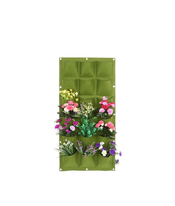 Garden Grow Bag Pockets Vertical Planter Wall mounted PE Gardening Flower Hanging Felt Planting Bag Indoor 17.jpg 640x640 17