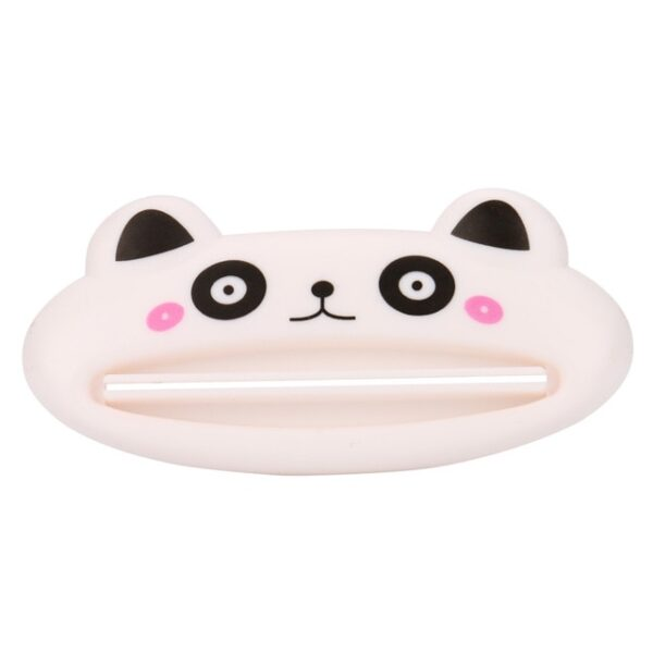 ISHOWTIENDA HOT 1pc 9cm 4 cm Bathroom Home Tube Rolling Holder Squeezer Easy Cartoon Toothpaste Dispenser 2.jpg 640x640 2