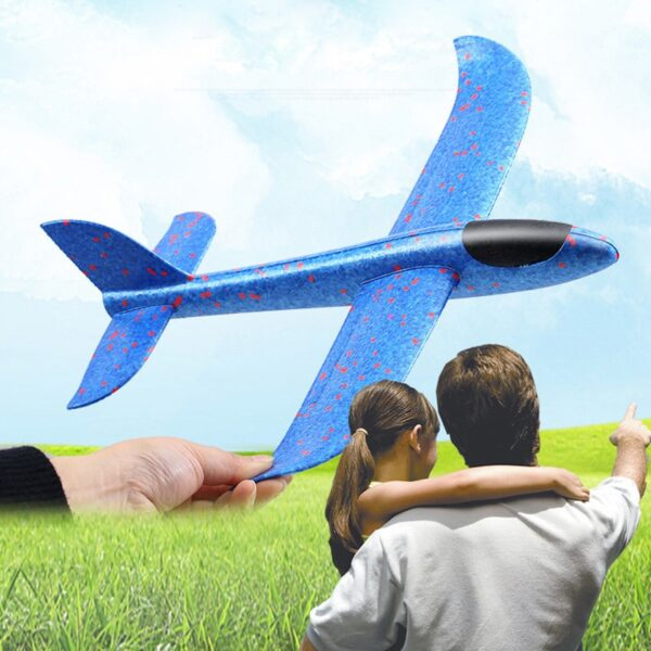 Kids Toys Hand Throw Flying Planes Foam Aeroplane Model Kid Outdoor Flaying Glider Toy EPP Resistant 1