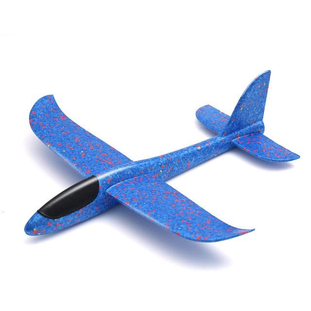 etateta Throwing Glider Foam Aircraft with Light Hand Throwing Plane for Children Thrifty
