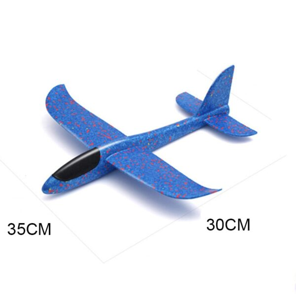 Kids Toys Hand Throw Flying Planes Foam Aeroplane Model Kid Outdoor Flaying Glider Toy EPP Resistant 5