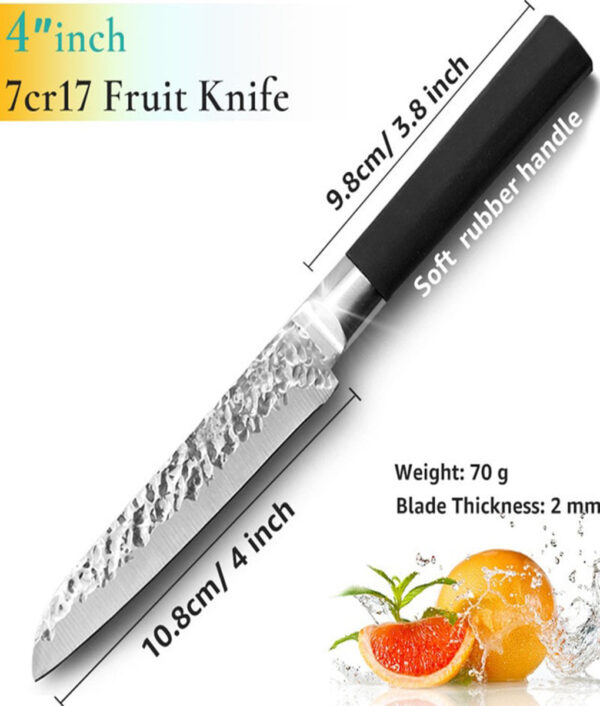 Kitchen Knife 8 inch Professional Japanese Chef Knives 7CR17 440C High Carbon Stainless Steel Meat Santoku 1 1.jpg 640x640 1 1