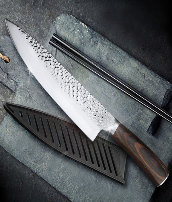 Kitchen Knife 8 inch Professional Japanese Chef Knives 7CR17 440C High Carbon Stainless Steel Meat Santoku 6