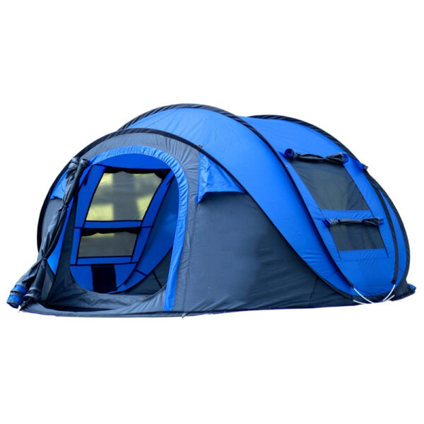 Large Space Pop Up Throw Tent Outdoor 3 4 Person Automatic Tents Waterproof Beach Tents Waterproof 1 1