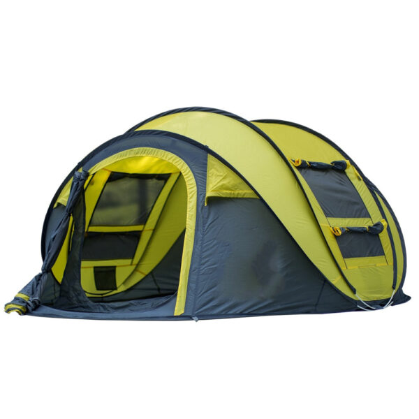 Large Space Pop Up Throw Tent Outdoor 3 4 Person Automatic Tents Waterproof Beach Tents Waterproof 4 1