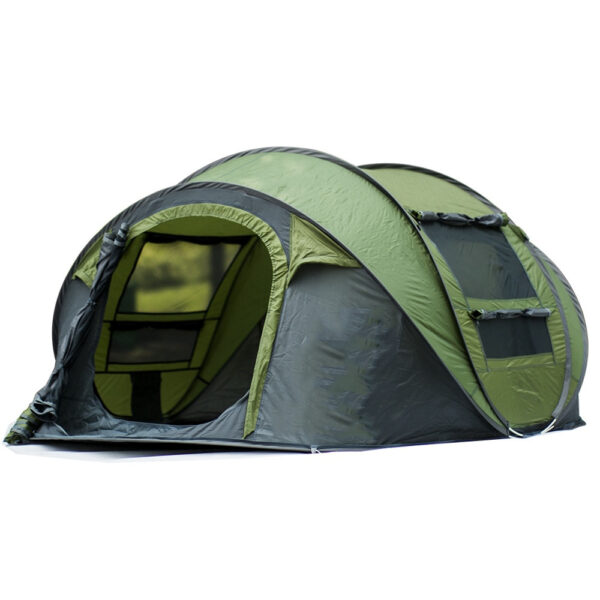 Large Space Pop Up Throw Tent Outdoor 3 4 Person Automatic Tents Waterproof Beach Tents Waterproof 6