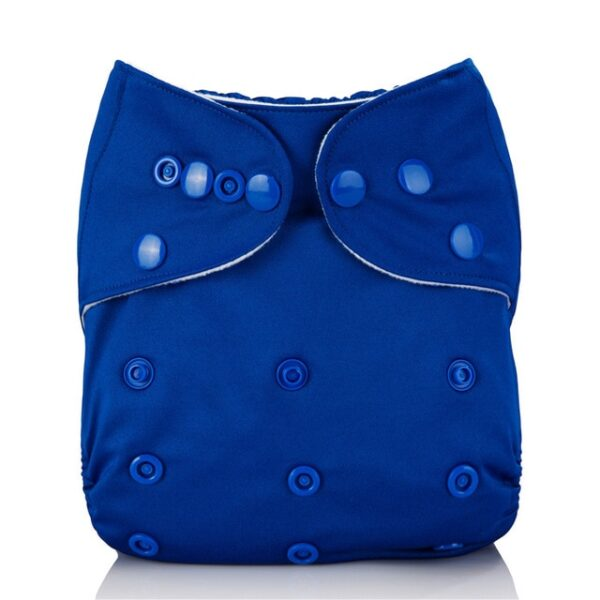 Mumsbest Reusable Baby Cloth Diaper washable Solid Color Baby Nappy One Size Adjustable Many Colors 3.jpg 640x640 3