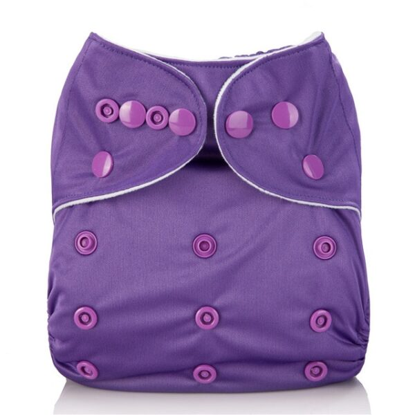 Mumsbest Reusable Baby Cloth Diaper washable Solid Color Baby Nappy One Size Adjustable Many Colors 6.jpg 640x640 6