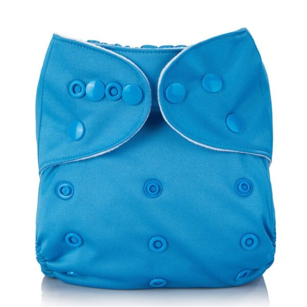 Mumsbest Reusable Baby Cloth Diaper washable Solid Color Baby Nappy One Size Adjustable Many Colors 7.jpg 640x640 7