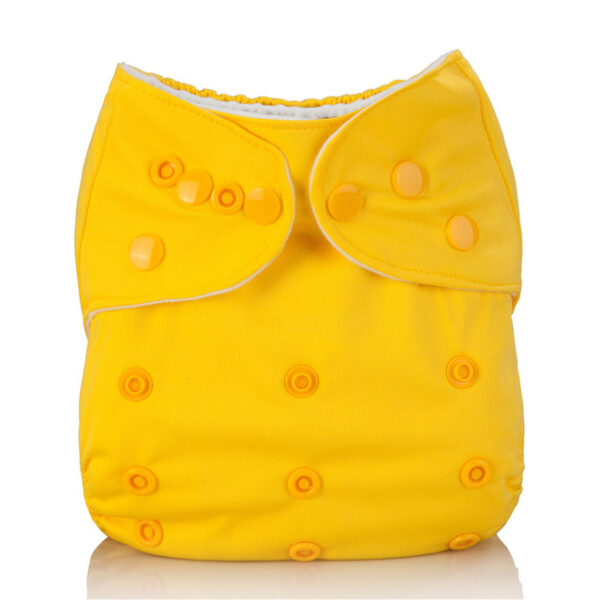 Mumsbest Reusable Baby Cloth Diaper washable Solid Color Baby Nappy One Size Adjustable Many Colors 9.jpg 640x640 9