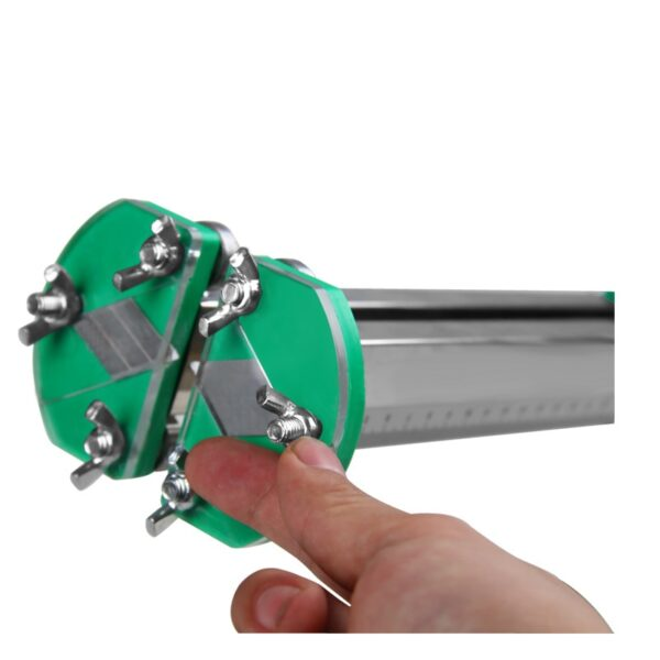 NEW Stainless Steel Manual Gypsum Board Cutting Artifact Roller Type Hand Push Drywall Cutting Tool 2