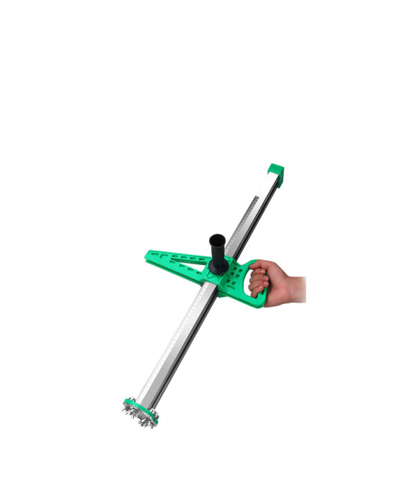 NEW Stainless Steel Manual Gypsum Board Cutting Artifact Roller Type Hand Push Drywall Cutting Tool 5