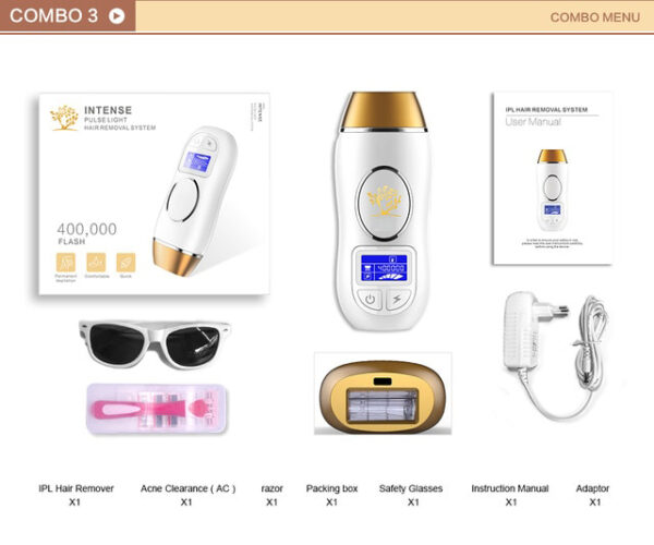 Newest 400K Outbreaks IPL Epilator Permanent Hair Removal Touch LCD Display depilador a laser Bikini Trimmer 2 1.jpg 640x640 2 1