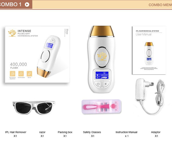 Newest 400K Outbreaks IPL Epilator Permanent Hair Removal Touch LCD Display depilador a laser Bikini Trimmer 5.jpg 640x640 5