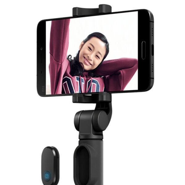 Original Xiaomi Mi Selfie Stick Tripod Wireless Bluetooth Remote Control Portable Monopod Extendable Handheld Tripod Holder 1 1