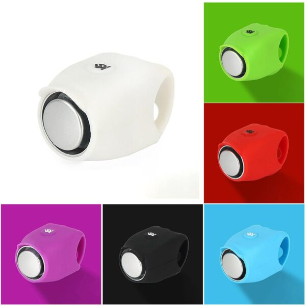 Outdoor Sports Plastic Bicycle Bell Super Loud Electronic Horn 120 DB Safety Handlebar Bike Cycling 1