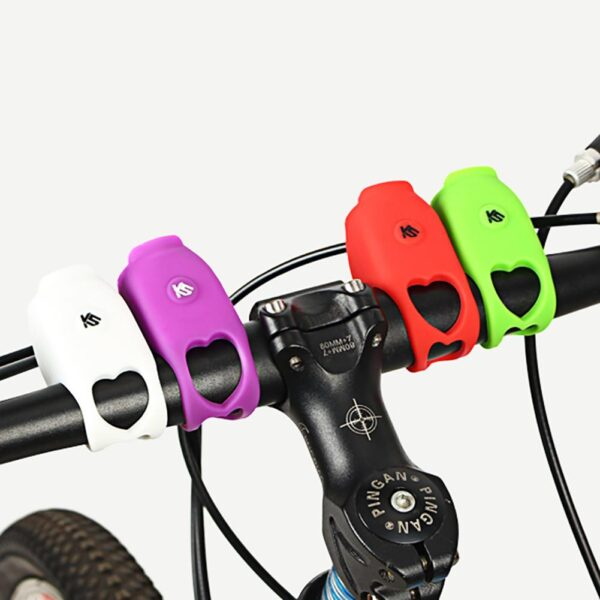 Outdoor Sports Plastic Bicycle Bell Super Loud Electronic Horn 120 DB Safety Handlebar Bike Cycling 2