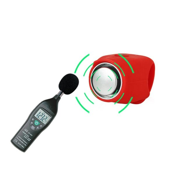 Outdoor Sports Plastic Bicycle Bell Super Loud Electronic Horn 120 DB Safety Handlebar Bike Cycling 3