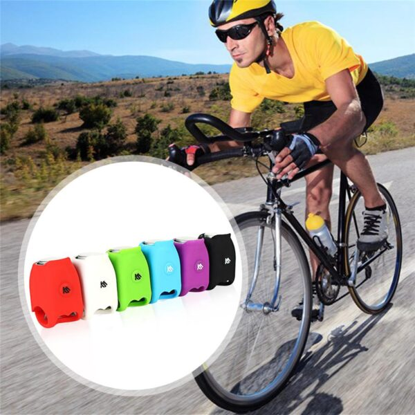 Outdoor Sports Plastic Bicycle Bell Super Loud Electronic Horn 120 DB Safety Handlebar Bike Cycling 4