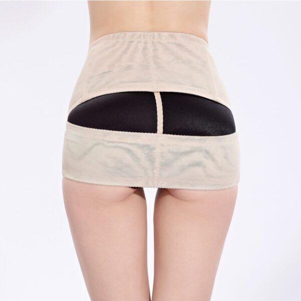 PRAYGER Women Pelvis Corrector Shaper Hook Control Waist Body Girdles Lift Butt Underwear Shaping Buttock Wrap 2