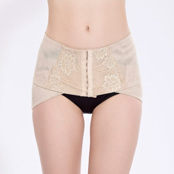 PRAYGER Women Pelvis Corrector Shaper Hook Control Waist Body Girdles Lift Butt Underwear Shaping Buttock Wrap 3