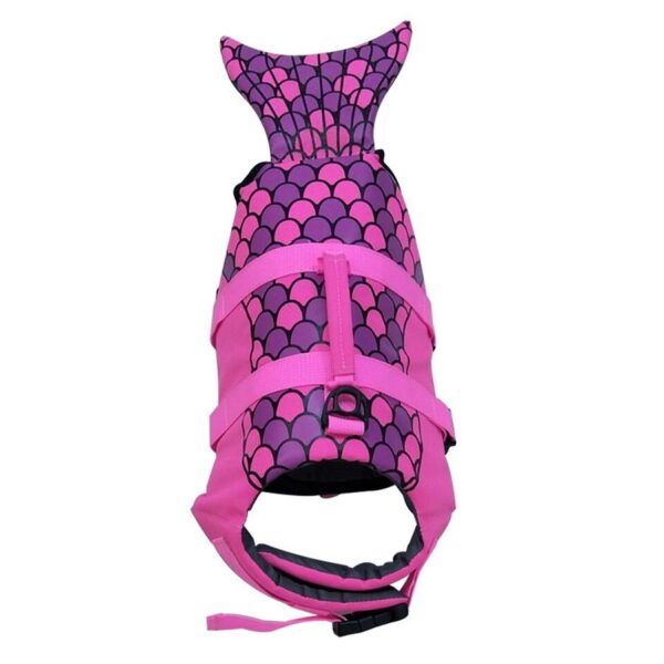 Pet Dog Life Jacket Safety Clothes Life Vest Collar Harness Saver Pet Dog Swimming Preserver Summer 4