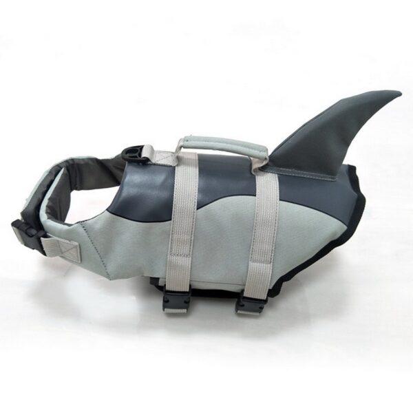 Pet Dog Life Jacket Safety Clothes Life Vest Collar Harness Saver Pet Dog Swimming Preserver Summer 5