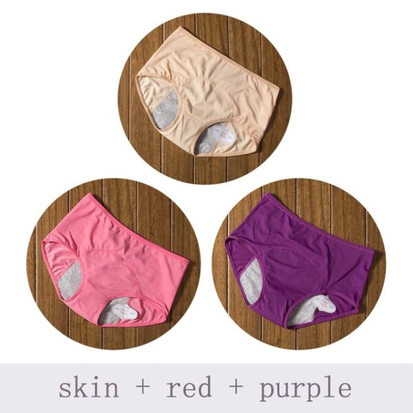 Physiological Pants Leak Proof Menstrual Women Underwear Period Panties Cotton Health Seamless Briefs High Waist Warm 1.jpg 640x640 1