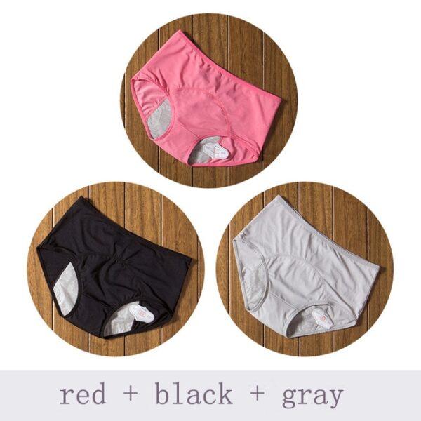 Physiological Pants Leak Proof Menstrual Women Underwear Period Panties Cotton Health Seamless Briefs High Waist Warm 2.jpg 640x640 2