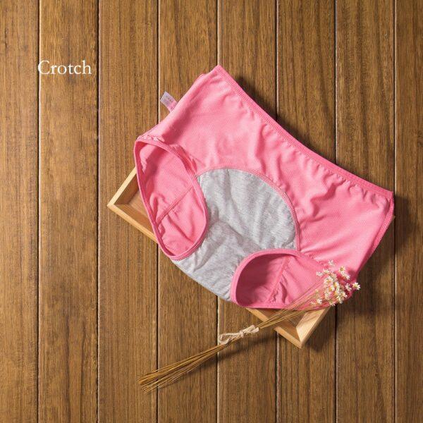 Physiological Pants Leak Proof Menstrual Women Underwear Period Panties Cotton Health Seamless Briefs High Waist Warm 3