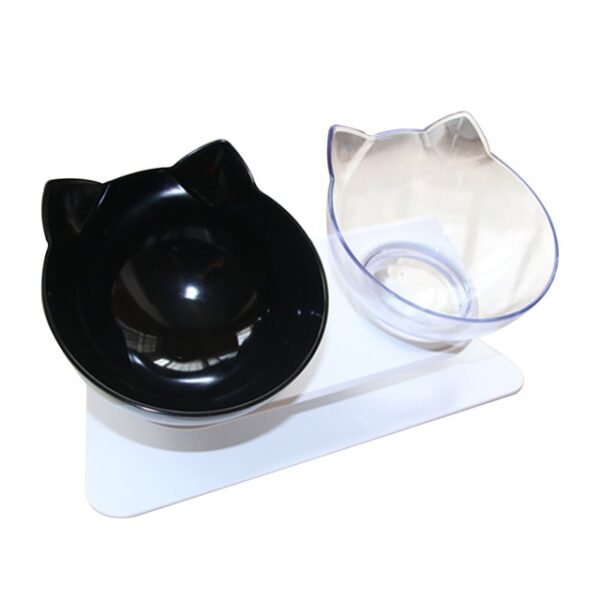 Plastic Double Non slip Pet Bowl For Dogs Puppy Cats Food Water Feeder Pets Feeding Dishes 2.jpg 640x640 2