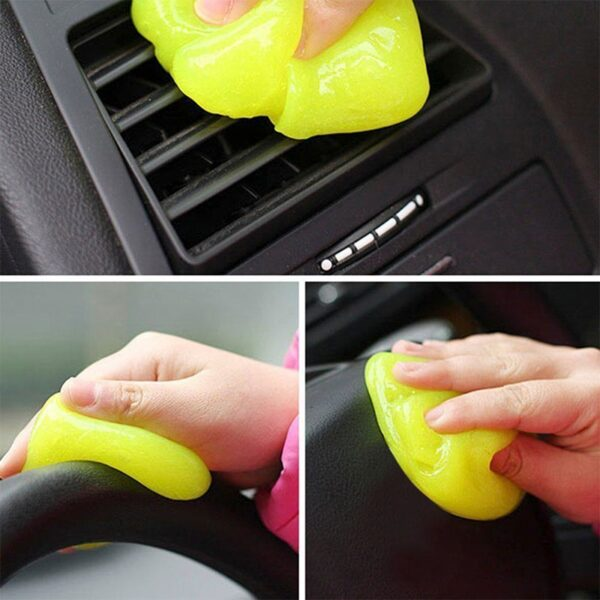 Practical Cyber Cleaner Magic Groove Dust Cleaning Compound Slimy Gel Wiper For Keyboard Car Laptop Cleaning 1