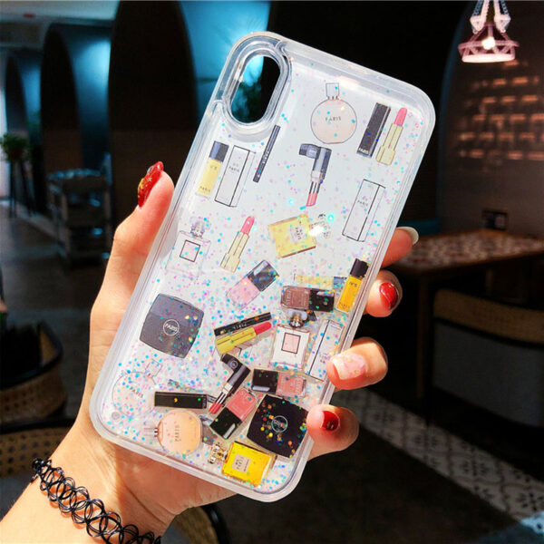 Quicksand Capinha For iPhone X 7 8 Plus Xs Max Xr Hard Plastic Case For iPhone 1