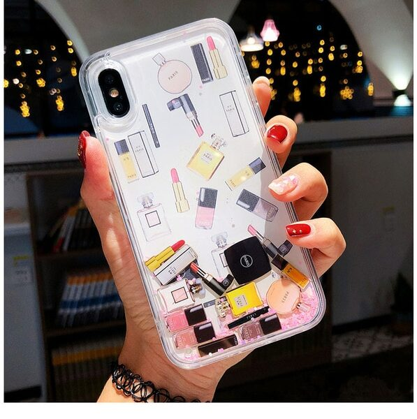 Quicksand Capinha For iPhone X 7 8 Plus Xs Max Xr Hard Plastic Case For iPhone.jpg 640x640