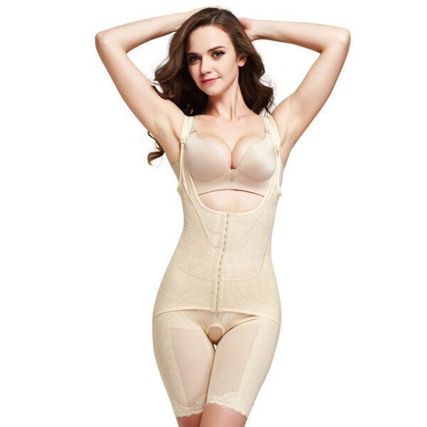 Slimming Underwear Shapewear bodysuit Women Lingerie Waist Trainer Body Shaper Corrective Underwear Magnet Loss Weight corset 2.jpg 640x640 2