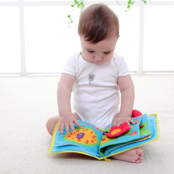 Soft Books Infant Early cognitive Development My Quiet Bookes baby goodnight educational Unfolding Cloth Book Activity 2