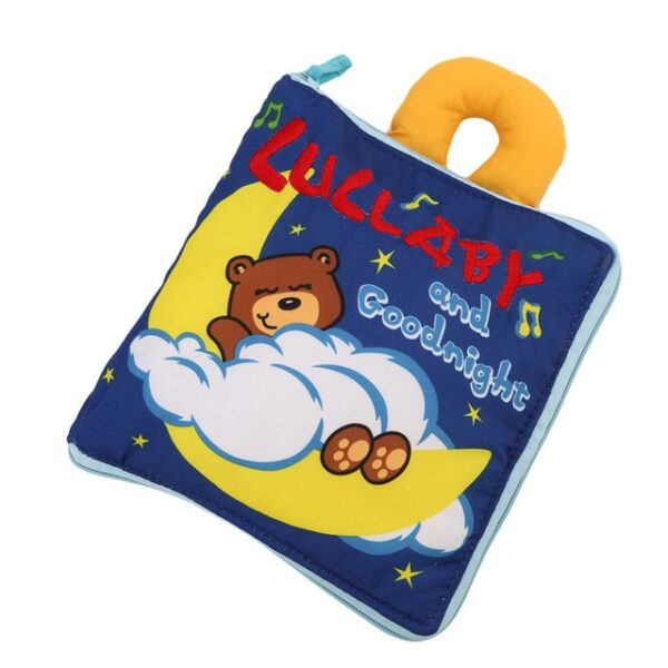 Soft Books Infant Early cognitive Development My Quiet Bookes baby goodnight educational Unfolding Cloth Book Activity 3.jpg 640x640 3