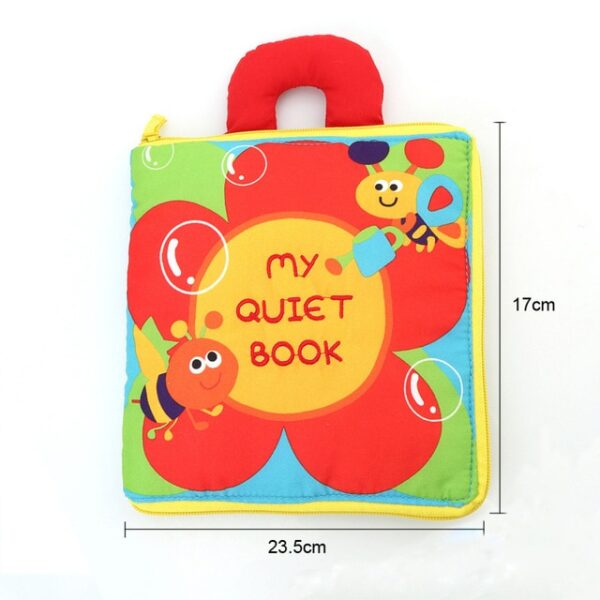 Soft Books Infant Early cognitive Development My Quiet Bookes baby goodnight educational Unfolding Cloth Book Activity 4.jpg 640x640 4