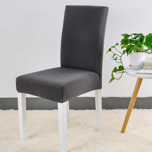 Spandex Chair Cover Stretch Elastic Dining Seat Cover for Banquet Wedding Restaurant Hotel Anti dirty Removable 1