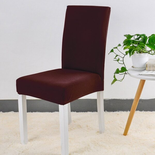 Spandex Chair Cover Stretch Elastic Dining Seat Cover for Banquet Wedding Restaurant Hotel Anti dirty Removable 2.jpg 640x640 2