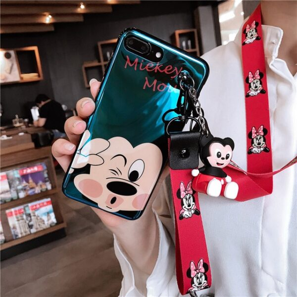Super cute Stitch mini Pooh dinosaur lanyard tand silicone personality drop case for iphone 6 7 3.jpg 640x640 3