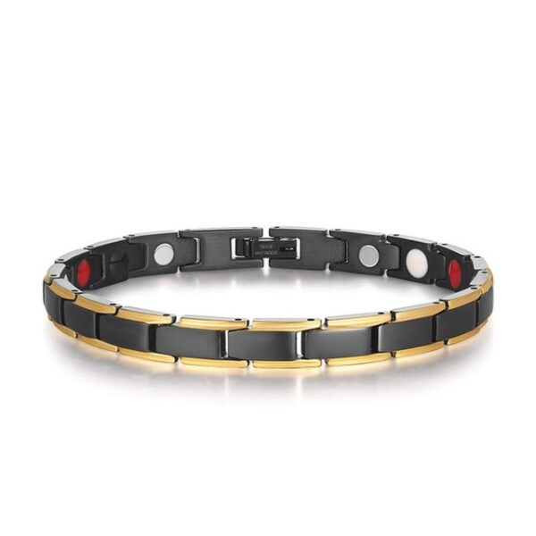 Therapeutic Energy Healing Bracelet Stainless Steel Magnetic Therapy Bracelet 1.jpg 640x640 1