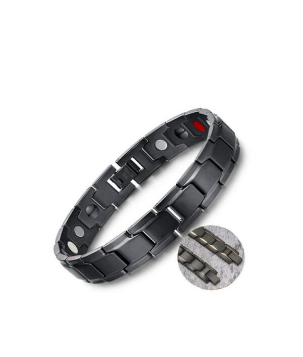 Therapeutic Energy Healing Bracelet Stainless Steel Magnetic Therapy Bracelet 4 510x510 1